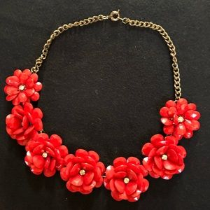 JCrew Rosette necklace
